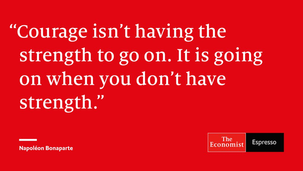 From The Economist Espresso: Quote of the day https://t.co/lV2vRcSoyk...