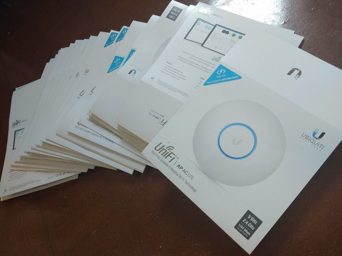 56 new @ubnt AC-Lite access points installed which now covers every inch of our #school. #edu #edutech #Wireless <br>http://pic.twitter.com/8nWQki67MV