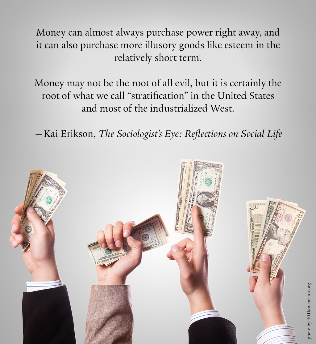 money is the root of evil Now, if money is the root of all evil then it has to be the cause for all evil, and yet we have people who do evil deeds not for money too therefore it can be the root yes it may trigger the evil in most people, but this is beyond just one or 2 million people we are talking about.