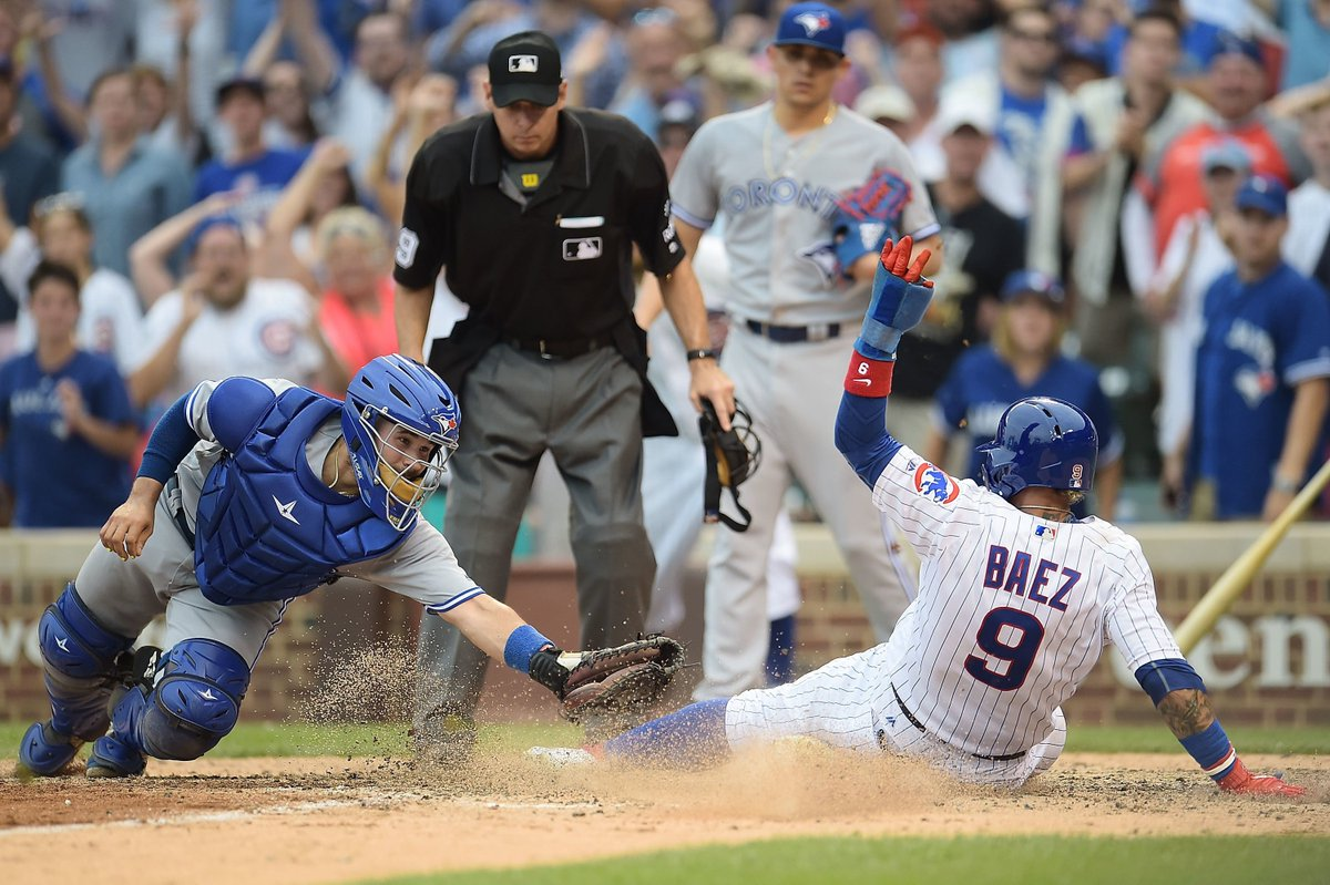 Chicago Cubs News: Cubs battle back to beat the Blue Jays in 10th http...