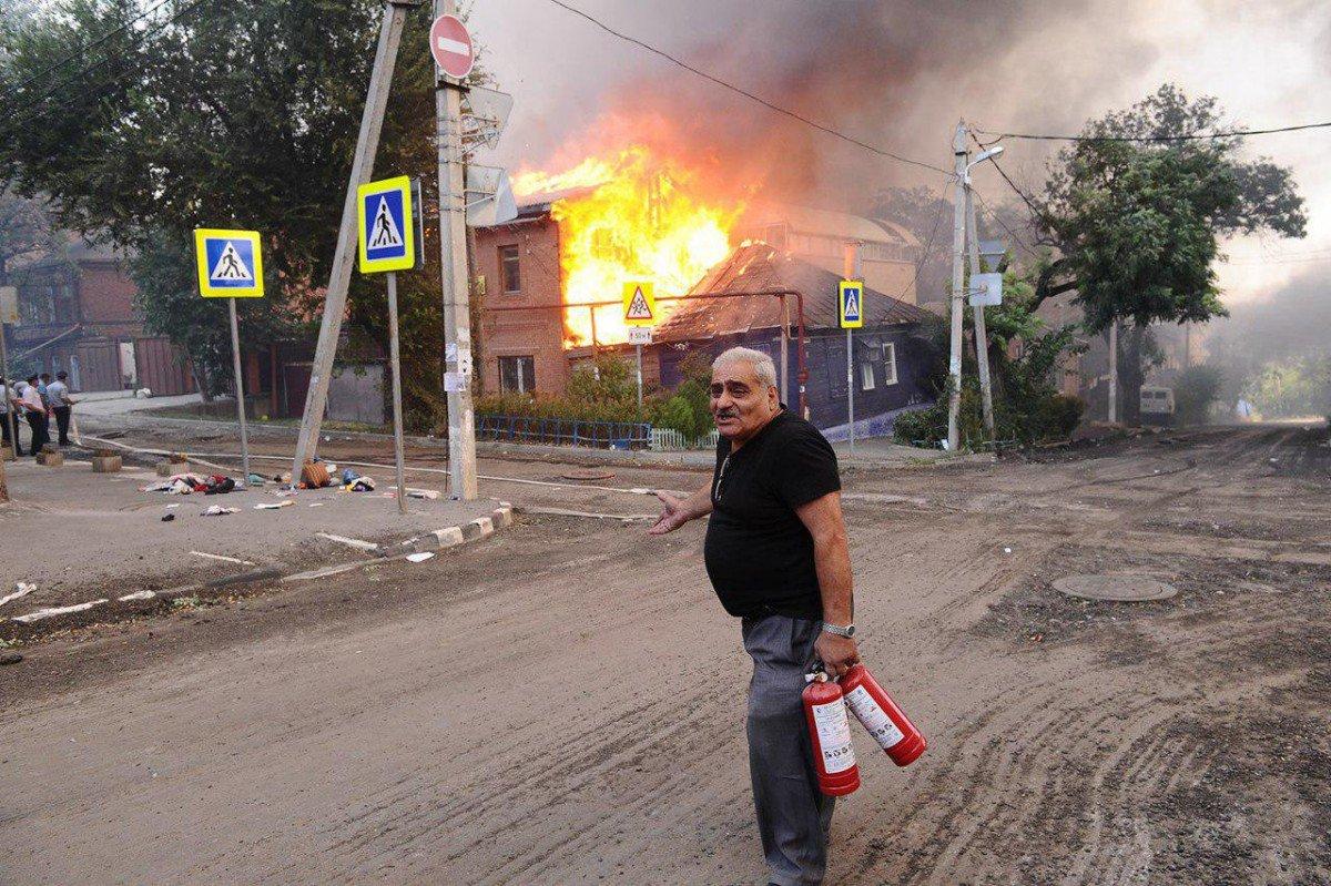 Масштабный пожар в Ростове-на-Дону: за помощью обратились 470 человек - Цензор.НЕТ 1614