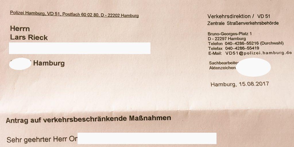 Polizei Hamburg On Twitter Moin Eine Stellungnahme Via Twitter