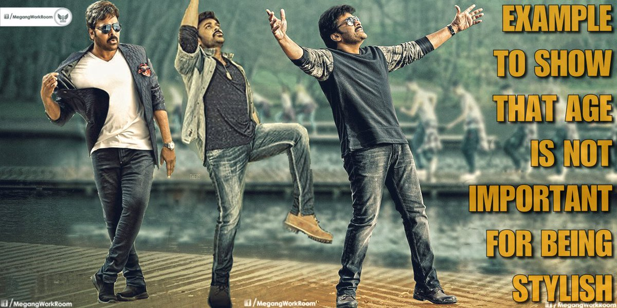 Being stylish even after 60 years is #GreatestAchievement for a #Man...and he redefined it,as simple as he dances,#HBDMegastarChiranjeevi<br>http://pic.twitter.com/2fbs9u6539