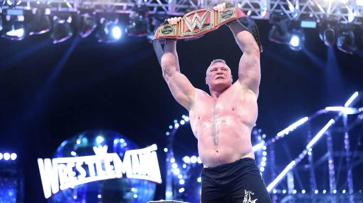 Report:   At This Time WWE Has No Plans To Take The Belt Away From Brock Lesnar And Could Go All The Way To #WrestleMania 34 As Champion <br>http://pic.twitter.com/cnOTL5Lo4l