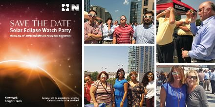 #NKF #ATL hosted a #SolarEclipse  Watch Party on rooftop of parking garage @MonarchCentre thanks to @HighwoodsProps! #science #CRE<br>http://pic.twitter.com/j2zHpnzWB2