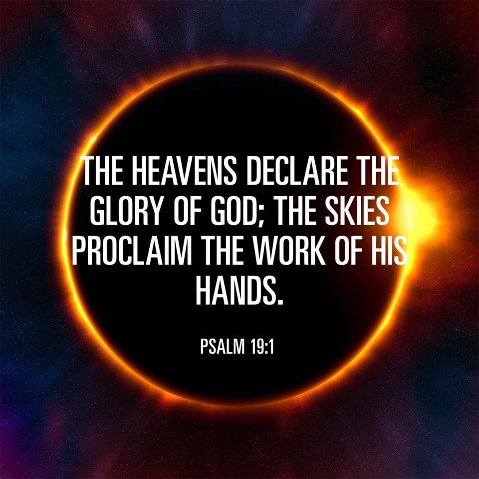 The heavens declare the glory of God #eclipse  #Eclipe2017 #Catholic #Shrine #Saint #Kateri<br>http://pic.twitter.com/OMia2q8Pyd