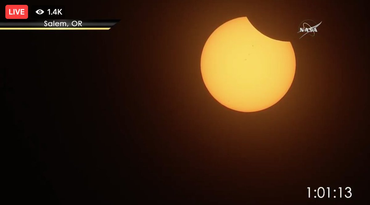 Total solar eclipse captivates America – as it happened | Science ...
