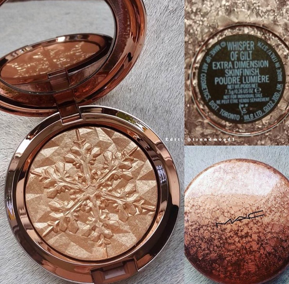 Buckle Up NEW @MACcosmetics #WhisperOfGilt Highlighter in a special compact! Will be available soon!  #Holidays  @andreeagheara <br>http://pic.twitter.com/zIhLFbi69x