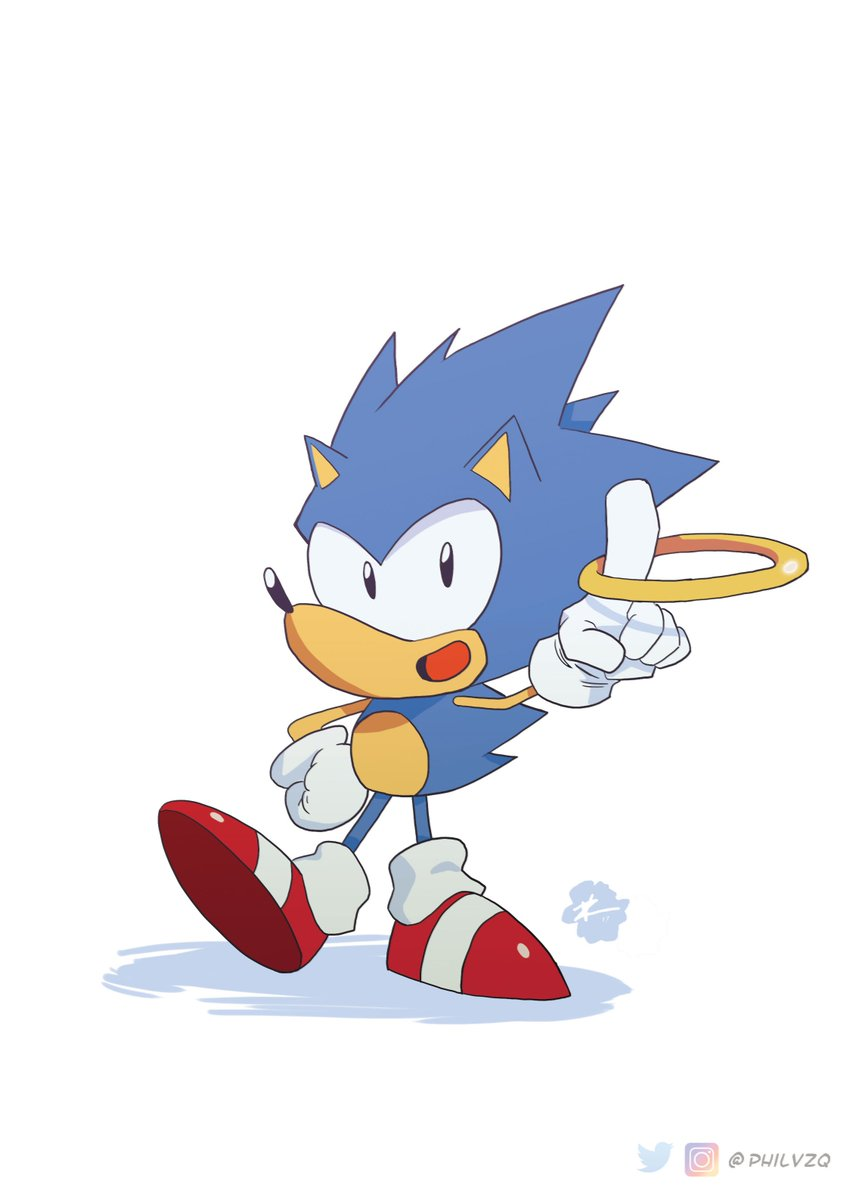 phil vazquez on twitter fun fact i ve never drawn sonic before