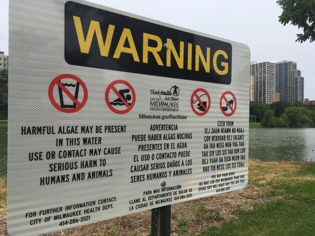 Terry Sater On Twitter Milwaukee County Parks Posts New Signs