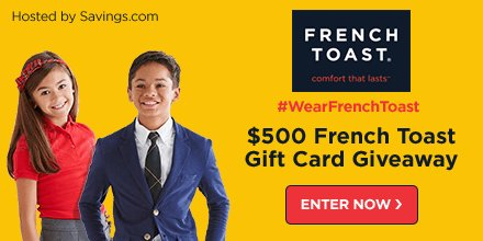 Only 2 days left! Enter before it&#39;s gone HERE:  http:// bit.ly/2x61Zrk  &nbsp;   #ad #WearFrenchToast #backtoschool #style #fashion #giveaway #win<br>http://pic.twitter.com/AZ76oqg563