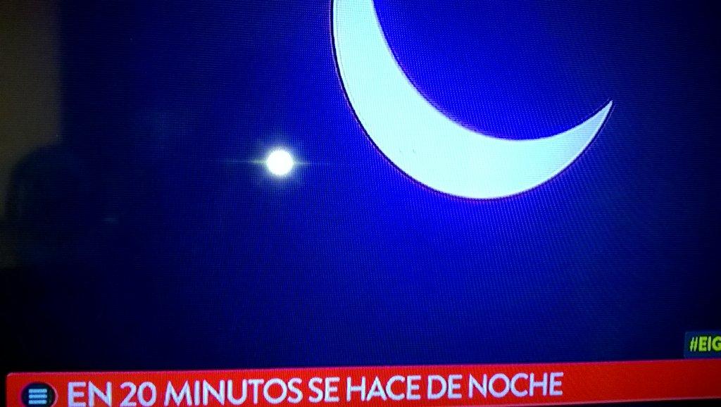 #ElGranEclipseEnTN, en 20' se hace noche...