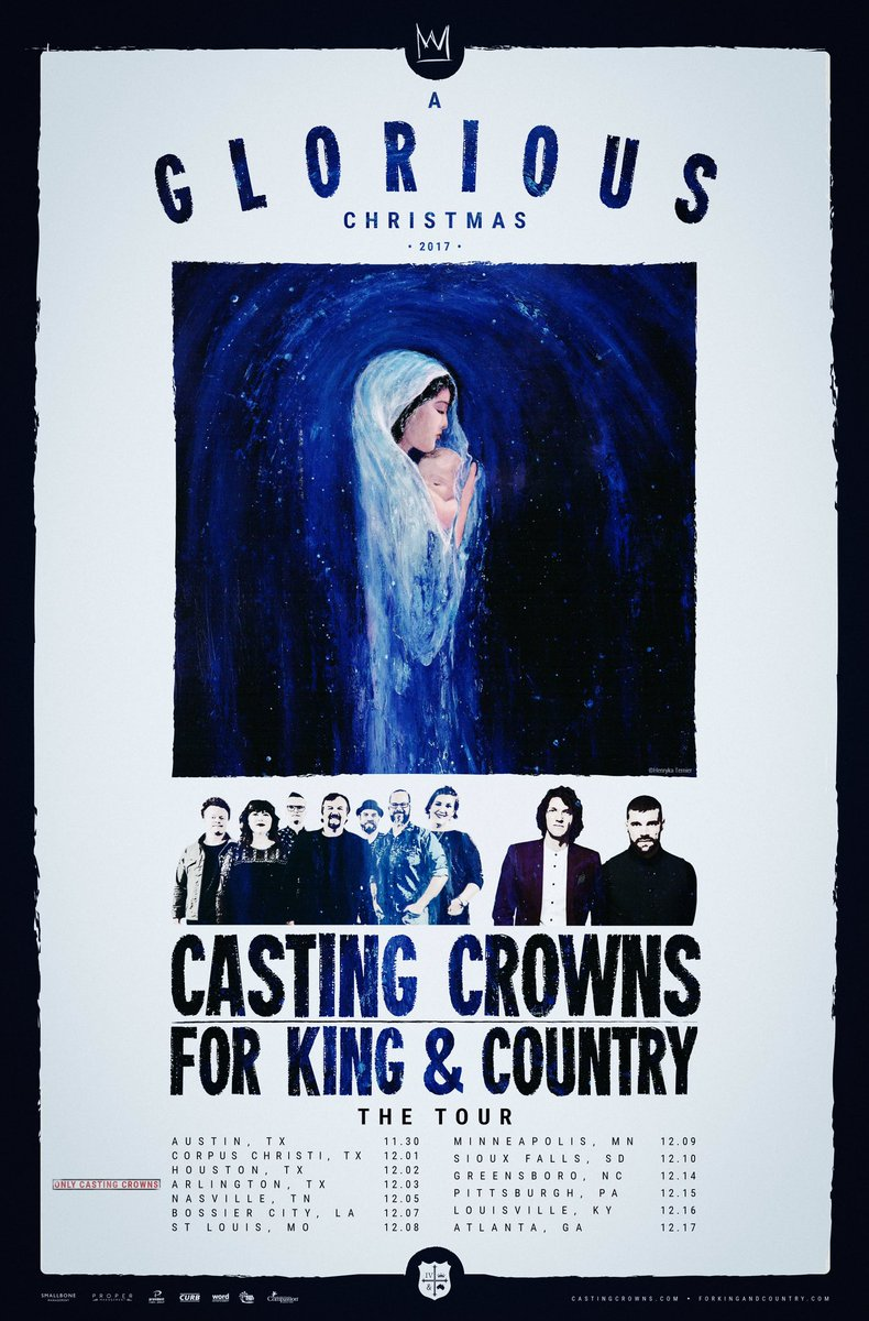 for king country on twitter announcing agloriouschristmas tour w castingcrowns rt to win 2 vip tix in any city presale begins 823 - For King And Country Christmas Album