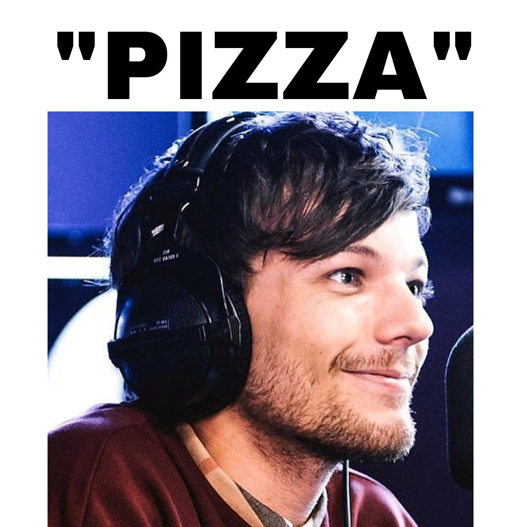 Hahaha I love you @Louis_Tomlinson #LouisTomlinson #Louis #LouisTomlinsontheking #ilylouistomlinson #pizza #ilpizza  <br>http://pic.twitter.com/GRpvDGqD0M