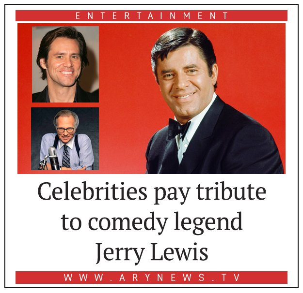 Celebrities pay tribute to comedy legend...