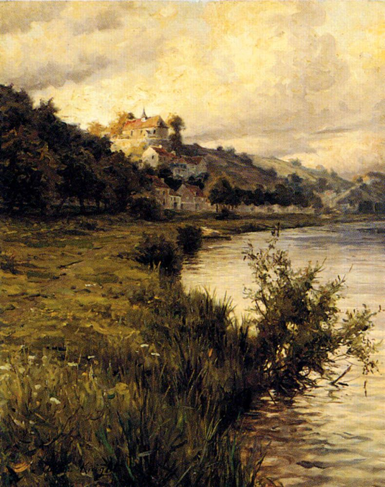 By Louis Aston Knight (1873–1948) #Painting #art #ArtLovers<br>http://pic.twitter.com/L1Sg0ddrTW