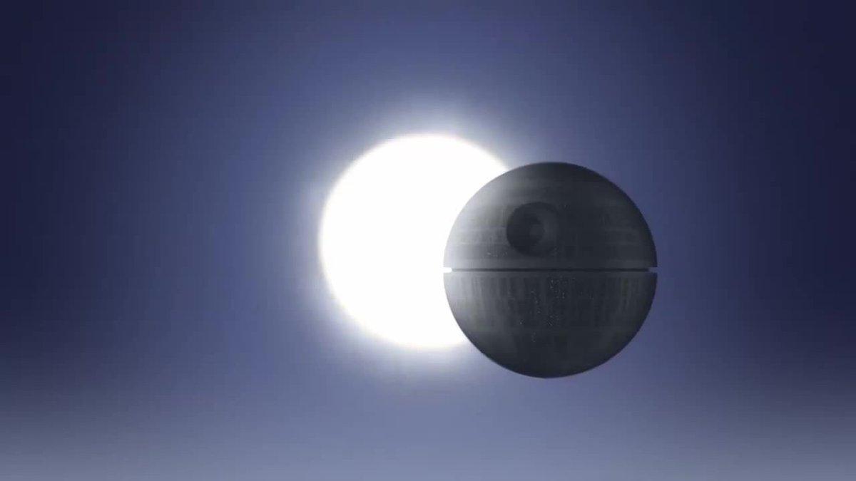 That's no Moon....  #SolarEclipse2017  #...