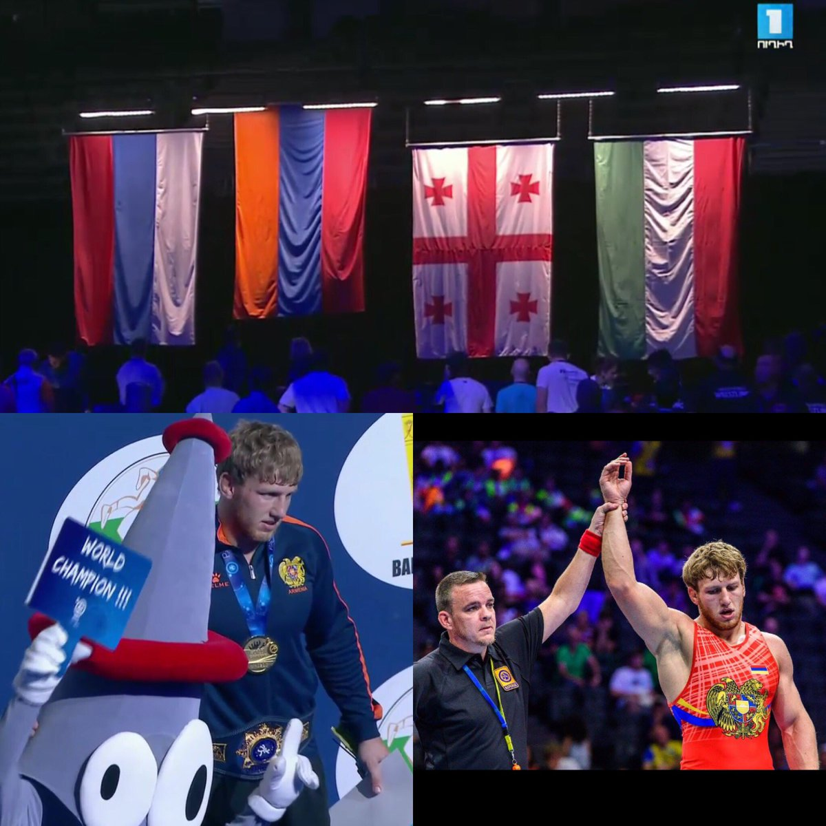 Artur Aleksanyan three-time #worldchampion #wrestling #Armenia<br>http://pic.twitter.com/ox4pA7tlQP