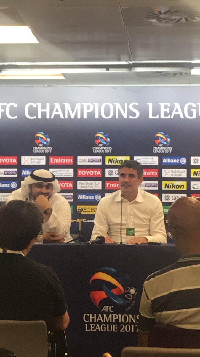 الفريان سأل زوران : بترجع ل #النصر بعد ا...