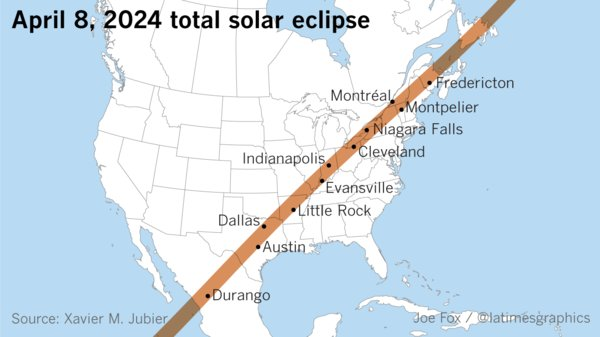 Miss today's eclipse? Another one is coming in 2024: https://t.co/Y61XYgQBzV