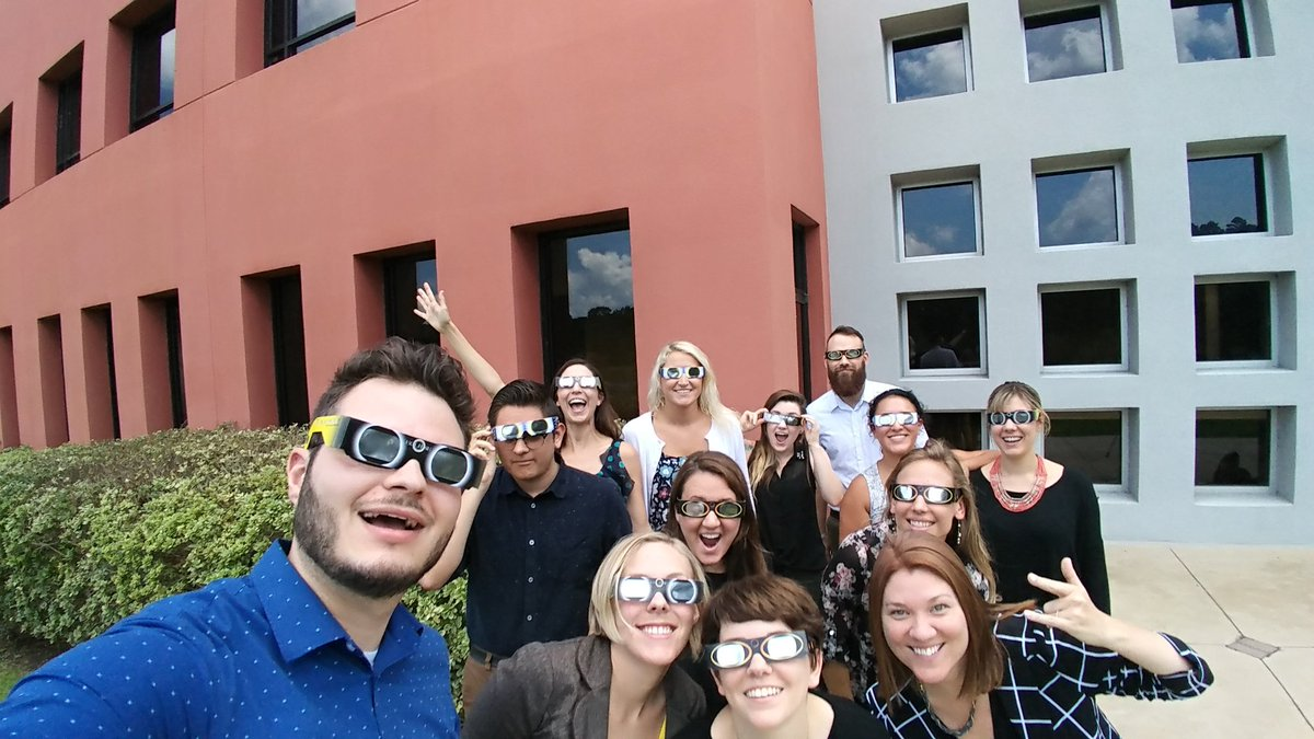 BowStern team #SolarSelfie! Post your own and earn a $5 donation for @KearneyCenter.