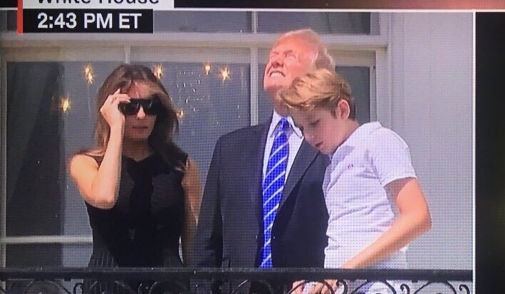 Apparently, someone didn't get the memo. #Eclipse2017