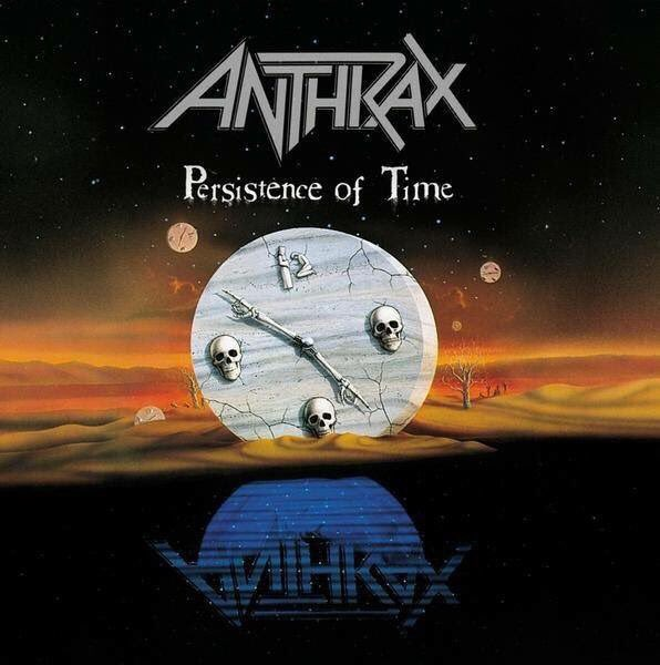 Aug 21st 1990 @Anthrax released the album &quot;Persistence Of Time&quot; #Blood #InMyWorld #OneManStands #GotTheTime #Gridlock #HeavyMetal<br>http://pic.twitter.com/kMvZ98fH5v