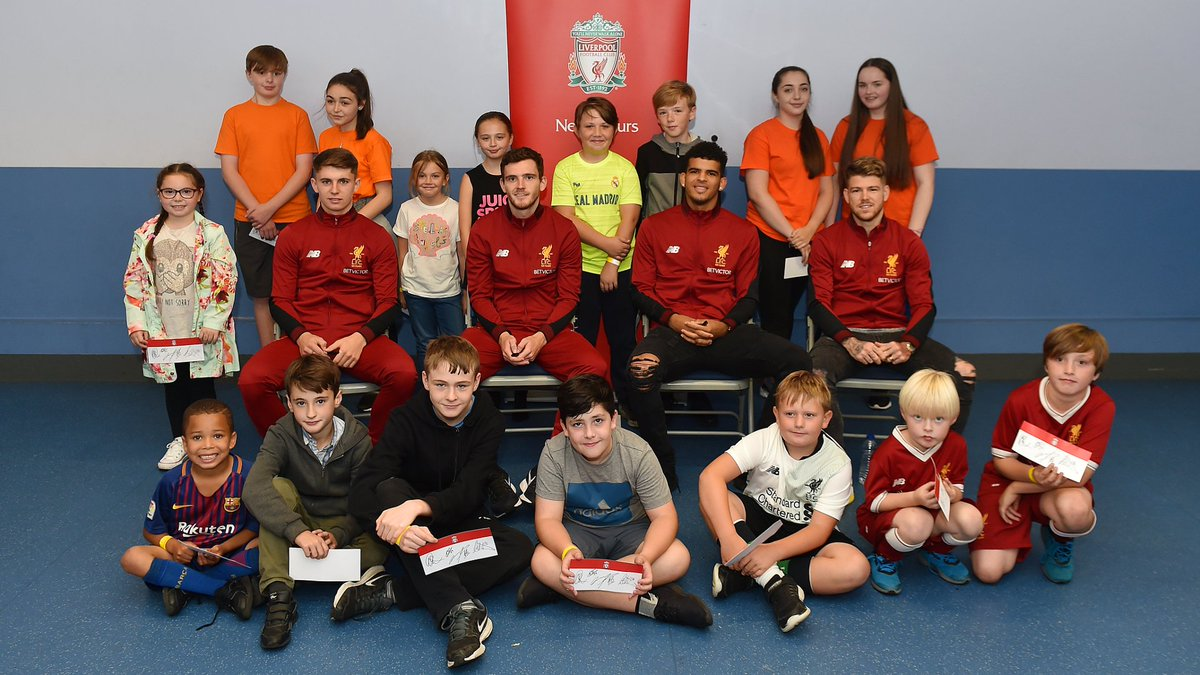 Liverpool Fc On Twitter Four Reds Held A Redneighbours Meet And