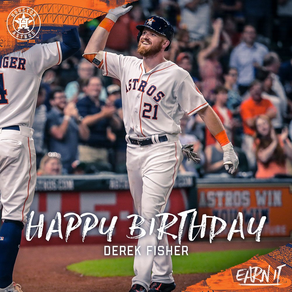 Happy Birthday To #Astros Outfielder, @defish21! Https://t