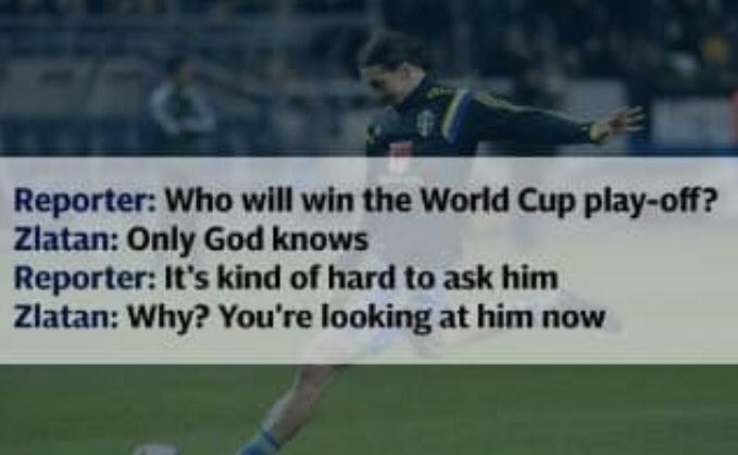 It turns out God has great style  #Zlatan <br>http://pic.twitter.com/DcGIdD9acJ