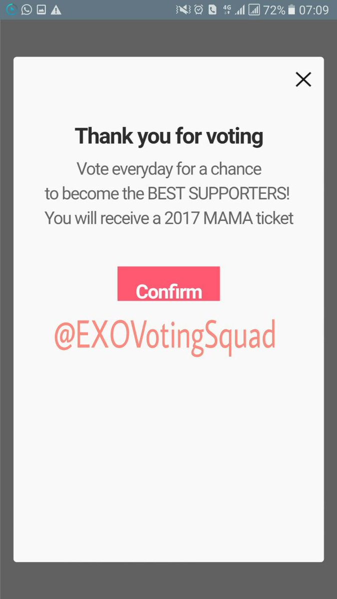 Vote as much as u can! Keep #EXO leading cz might get chance become final nominee for Asia&#39;s top music ceremony MAMA  http:// mwave.interest.me/en/mobileweb/m musicchart &nbsp; … <br>http://pic.twitter.com/CbYMjN1Hz0