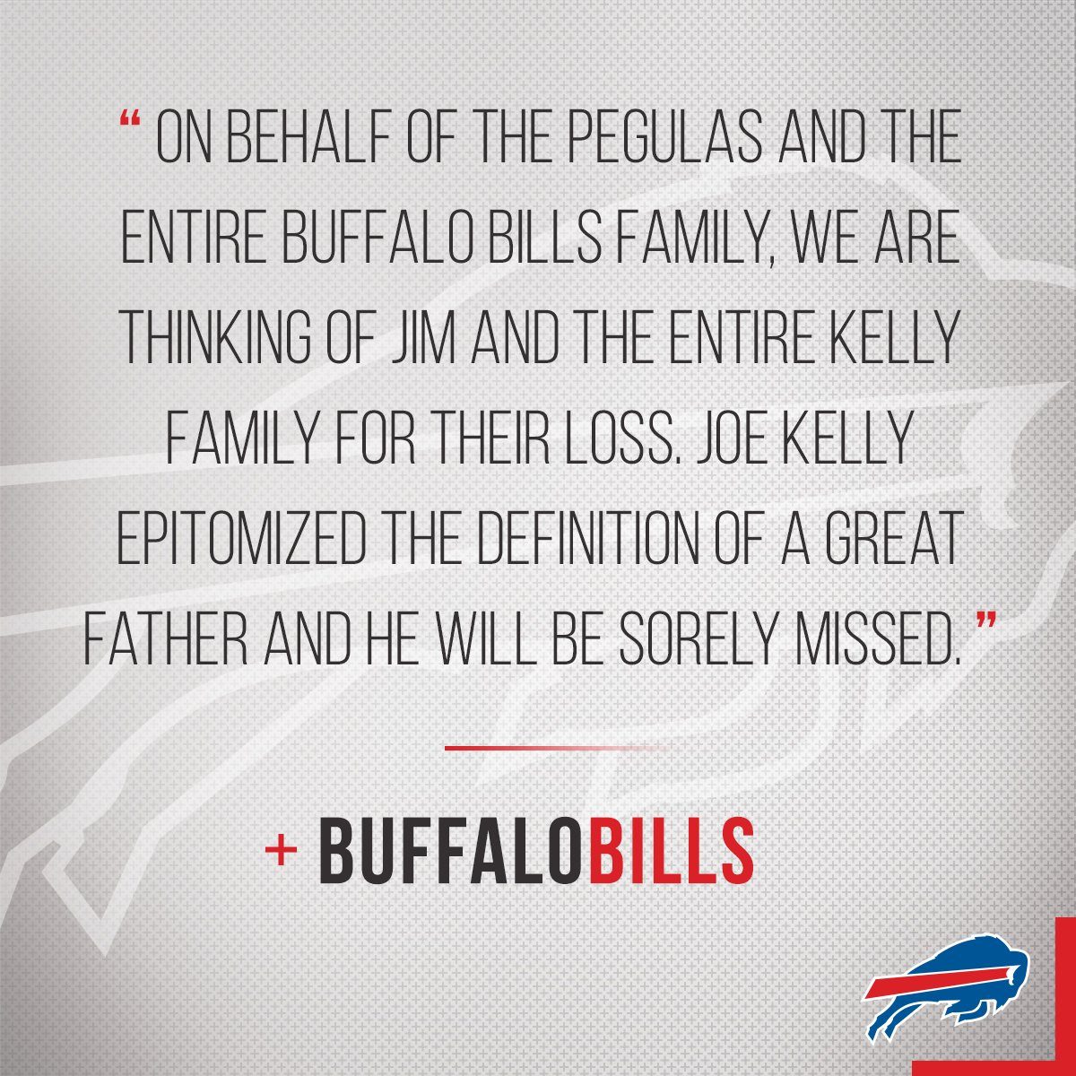 Buffalo Bills On Twitter The Bills Family Is Thinking Of