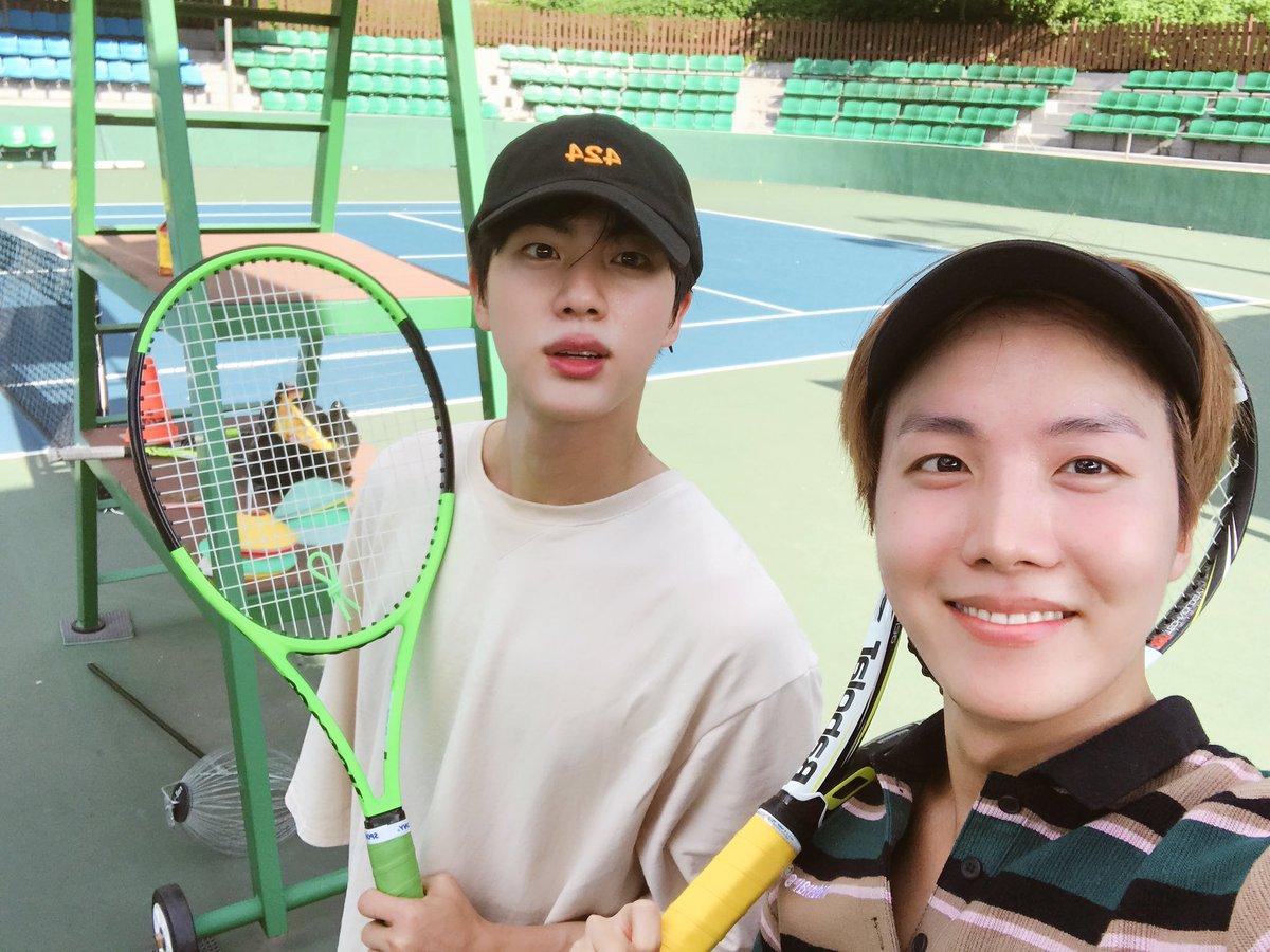 테니스 다시 시작 !!!  #투데이홉진  #테니스왕자들 https://t...