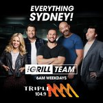 .@GrillTeam ON NOW  Stream: https://t.co/4sisUWe4ur   Catch up on podcast by downloading the Triple M App!  #GrillTeam @TripleMSydney