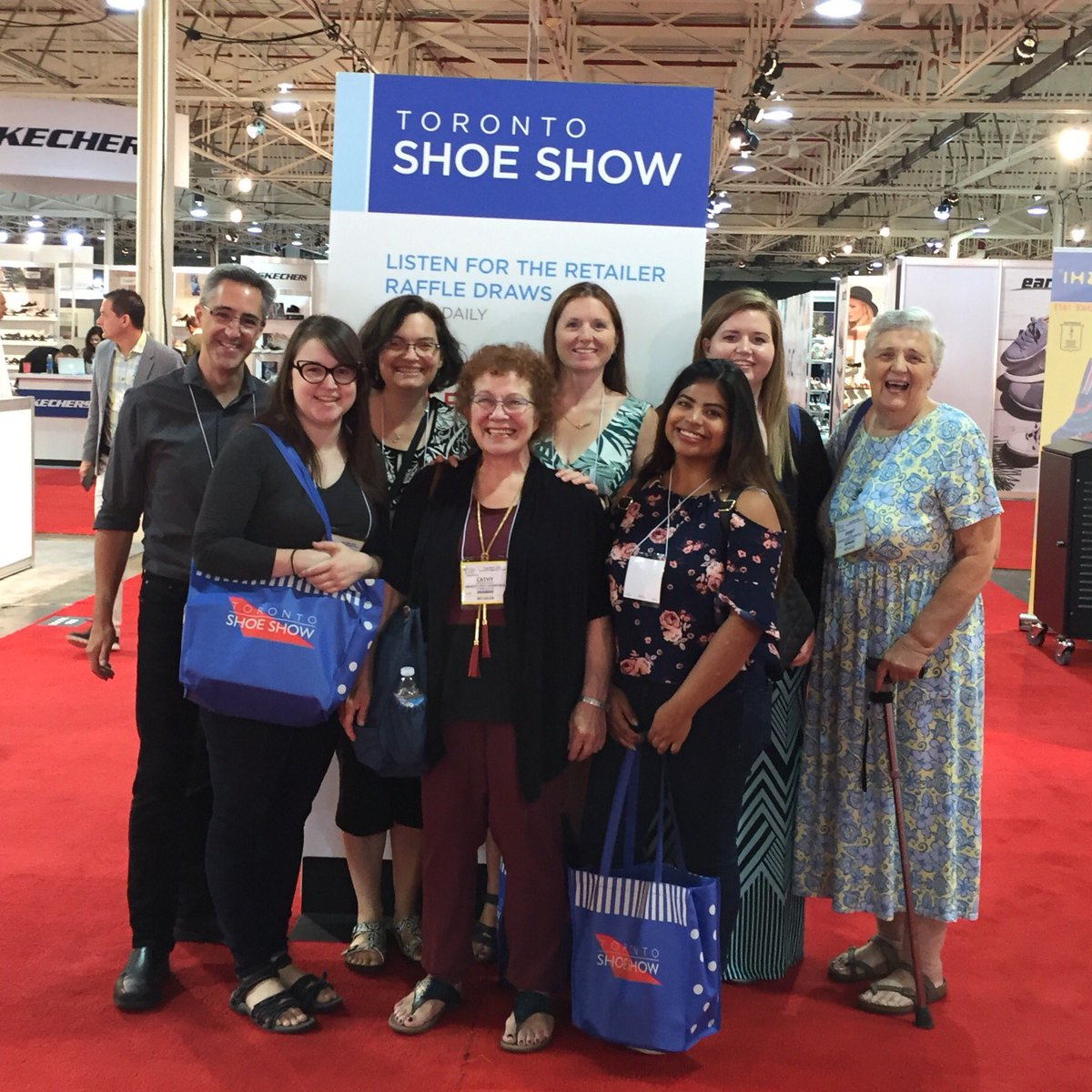 test Twitter Media - Another fun day looking at shoes & sandals for Spring/Summer 2018!@TorontoShoeShow #GradyCrew 👣 https://t.co/LWaC6yYNLW