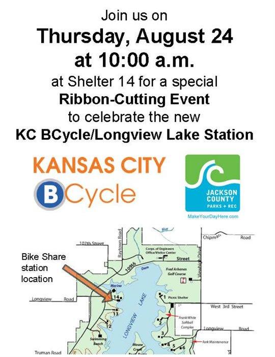 longview lake shelter map Jackson County Mo On Twitter Help Us Celebrate With Bikesharekc longview lake shelter map