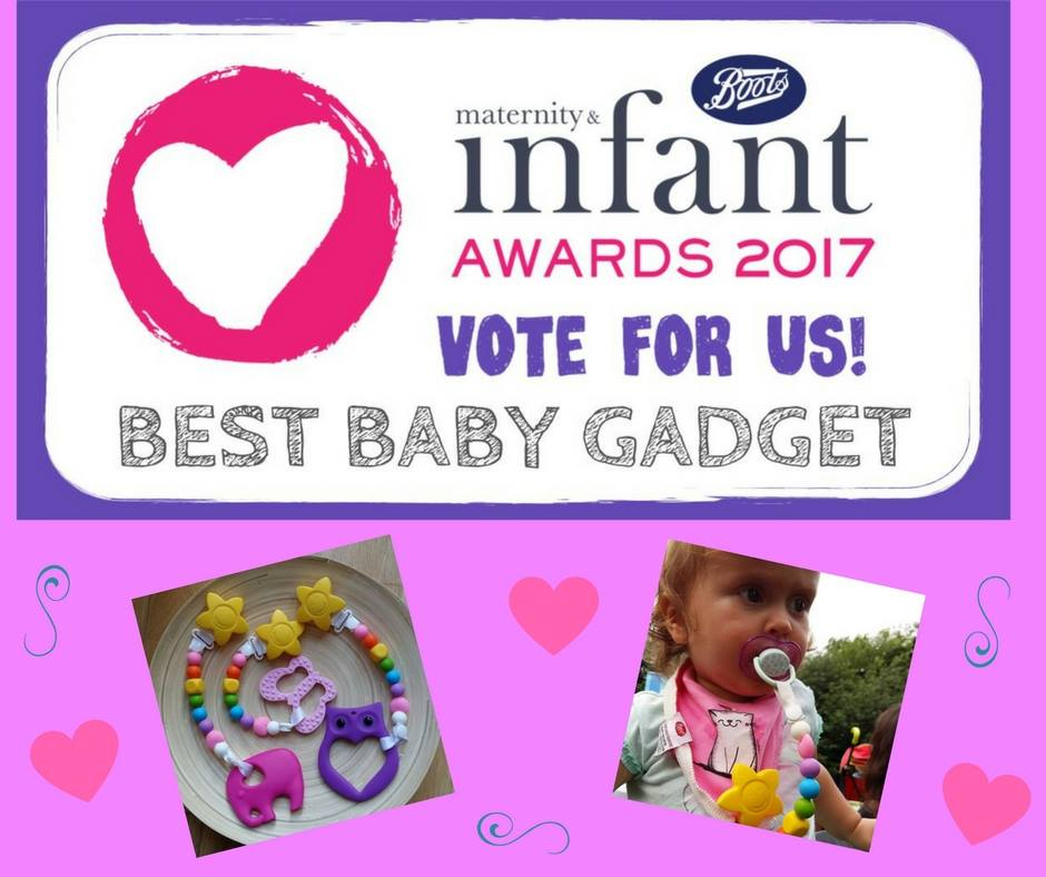 We&#39;re taking part in Boots #Maternity &amp; #Infant #Awards #BestBabyGadget U can vote for us here  http:// bit.ly/2vsVuiN  &nbsp;   #irishbizparty<br>http://pic.twitter.com/LkuOlt4UJt