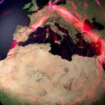 Watch 150 animal species roam the globe in this amazing migration animation https://t.co/0jAbw0g1Mu