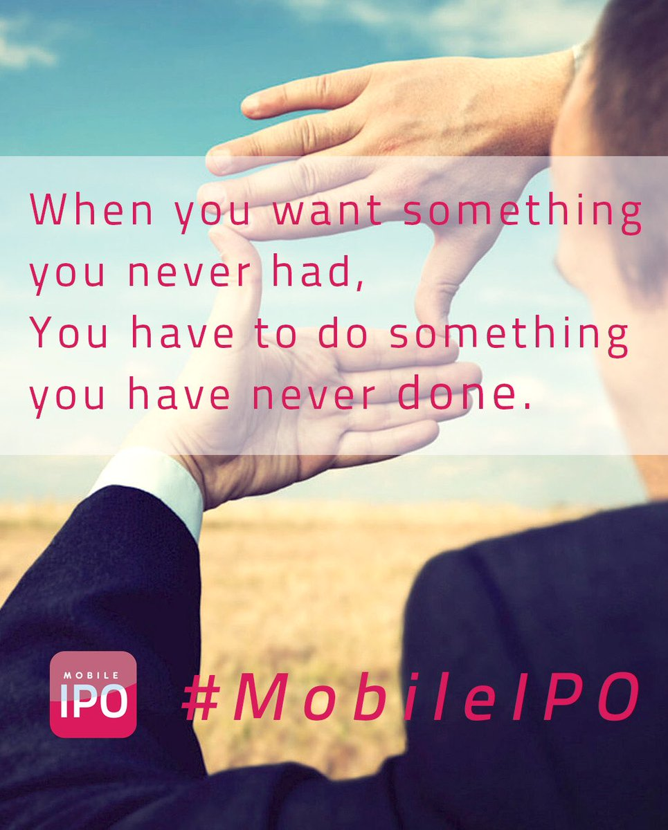 #IPOs on #mobile #phones is something new. #Crowdfunding #pr #VC #startups and #invest right here @MobileIPO<br>http://pic.twitter.com/A79UmaUgbb