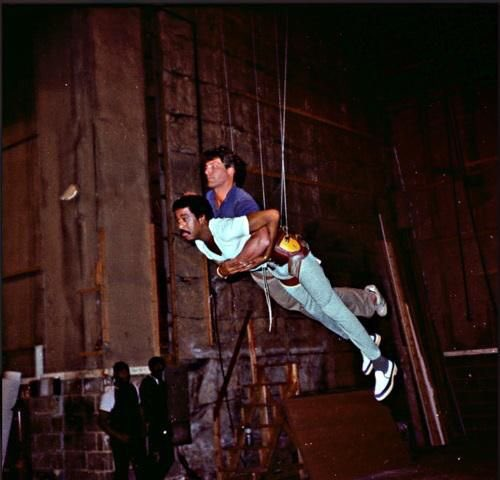 Rehearsing for Superman III #behindthescenes #sfx #Superman @Jfseb30<br>http://pic.twitter.com/4Q1g3fNLMG
