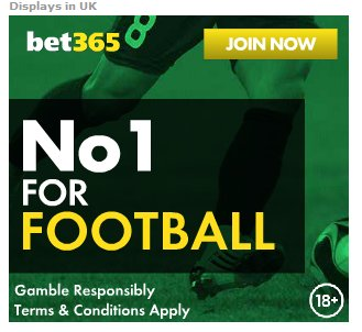 RT #Bet365 - £200 in BETS CLICK HERE SIG...