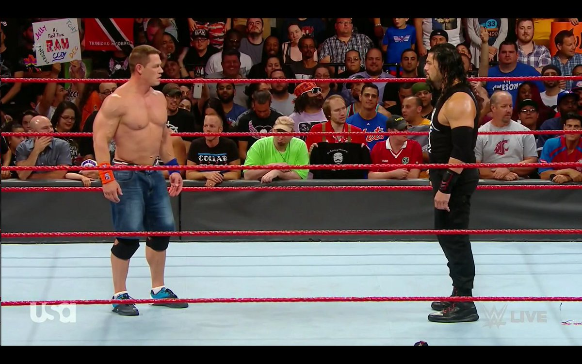 When the two &quot;most popular guys&quot; on #RAW have 18,000 chanting &quot;you both suck&quot; - might be time for a change. #RAWBrooklyn <br>http://pic.twitter.com/mh3Gj7s0C6