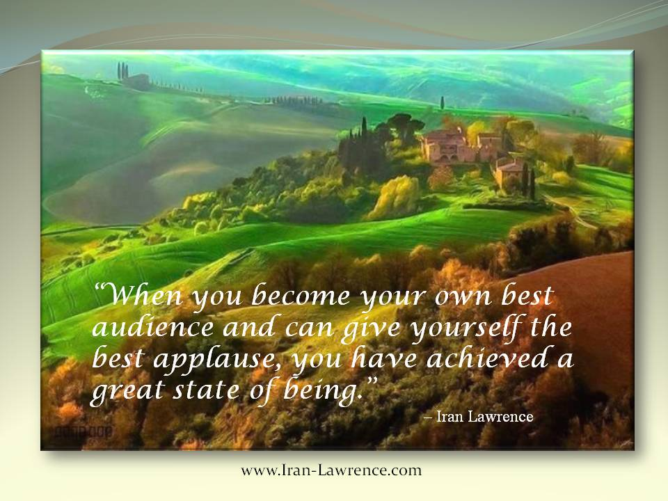 When you become your #greatest #audience and give yourself the best #applause...<br>http://pic.twitter.com/HKTLgImDdG