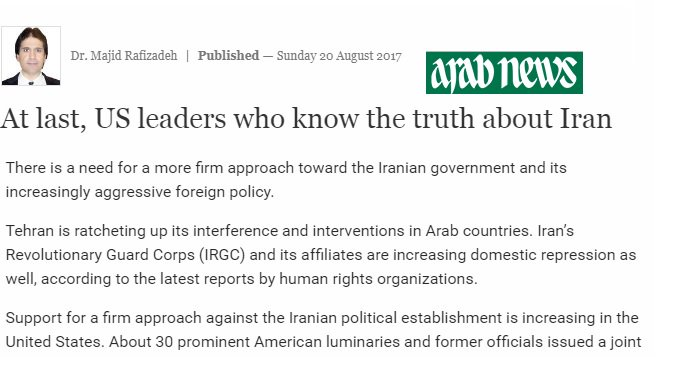 At last, US leaders who know the truth about #Iran.  http:// bit.ly/2vYfI4r  &nbsp;    #Canada #Cdnpoli #NDP #LPC #CPC #USA #SenCA #BCpoli #ONpoli #HW<br>http://pic.twitter.com/CyJz2wELUw