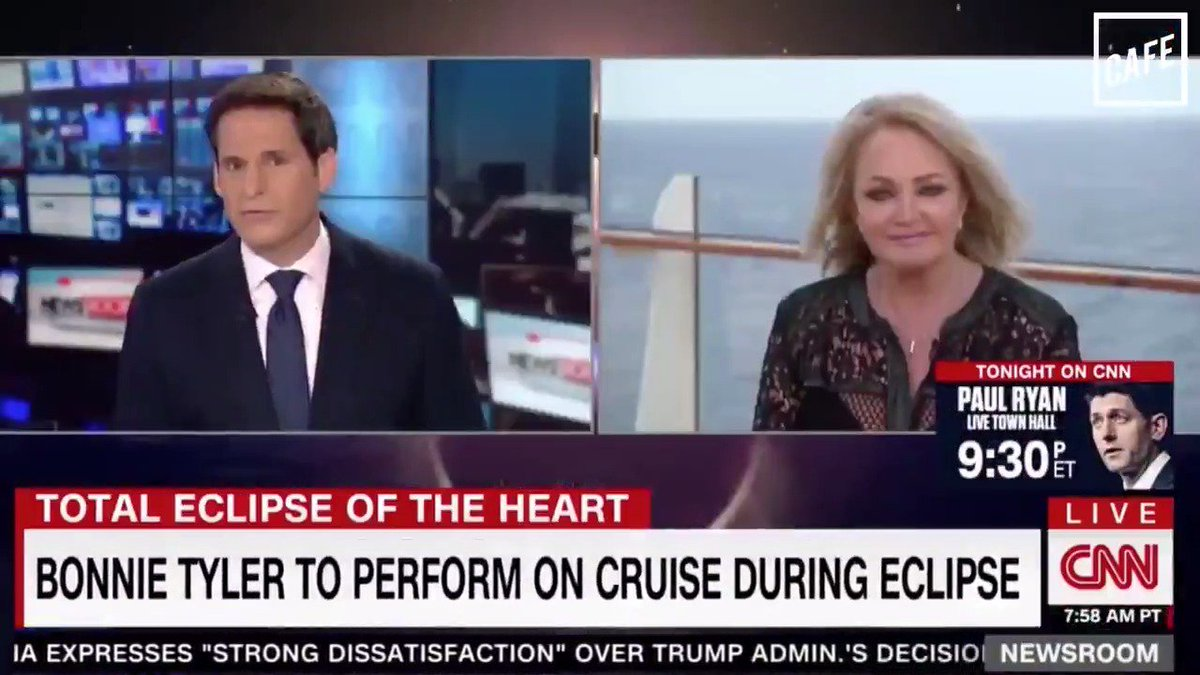 Bonnie Tyler's CNN interview was a total disaster of the heart. (@BriHaynie for CAFE)