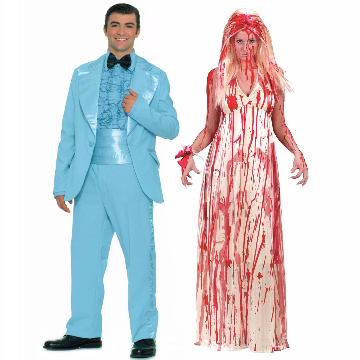 Asylum Zone Costumes on Twitter  More couples costume ideas! Theyu0027re all gonna laugh at you!!! #carrie #stephenking #scary #horror #scarymovie #halloween ...  sc 1 st  Twitter & Asylum Zone Costumes on Twitter: