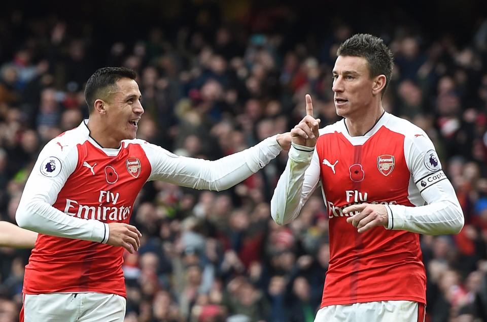 Alexis #Sanchez and Laurent #Koscielny both set to start against Liverpool.  Quality news.<br>http://pic.twitter.com/ADHIb8Wkq3