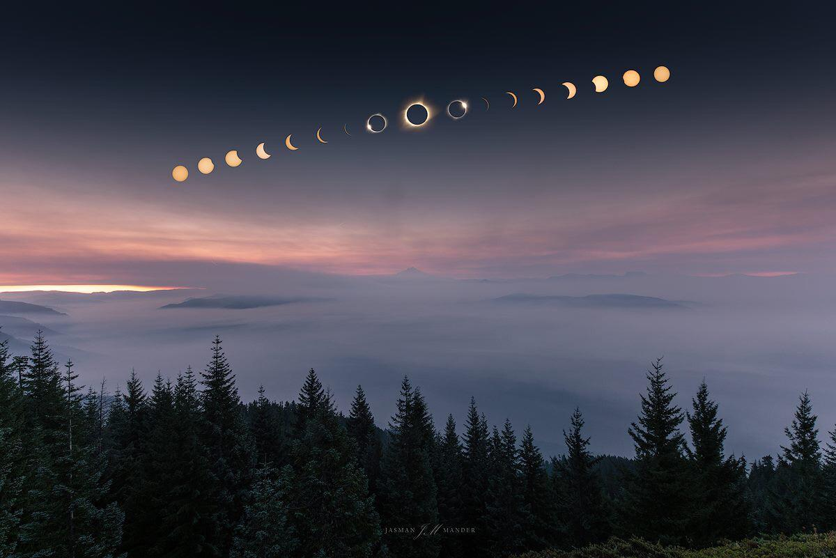 What an epic shot of the #SolarEclipse2017