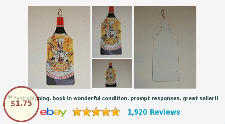 Italian Pizza Chef Painted Tempered Glass Cutting Board Wine Bottle Cheese Board! | eBay #wine #cheeseboard  https:// goo.gl/a2Tpwf  &nbsp;  <br>http://pic.twitter.com/DakCa7jpra