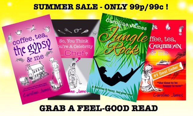 #Summer Sale! Grab a feel-good read for only 99p/99c!  http:// mybook.to/CCA  &nbsp;   #tuesnews @RNAtweets &quot;Caroline is a natural story-teller&quot; #LBF<br>http://pic.twitter.com/QYiwee2KMp